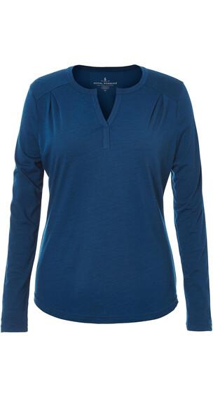 Royal Robbins Merinolux - Camiseta de manga larga - azul